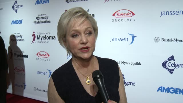 loraine alterman boyle on the event at international myeloma foundation's 10th annual comedy celebration benefiting the peter boyle research fund &... - peter boyle stock videos & royalty-free footage