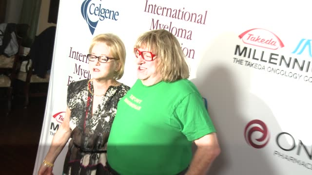 loraine boyle and bruce vilanch at international myeloma foundation 7th annual comedy celebration benefiting the peter boyle research fund &... - peter boyle stock videos & royalty-free footage