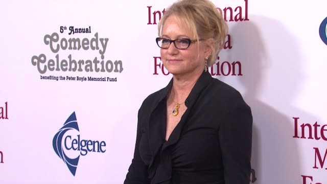 loraine boyle at the international myeloma foundation's 5th annual comedy celebration benefiting the peter boyle memorial fund at los angeles ca. - peter boyle stock videos & royalty-free footage