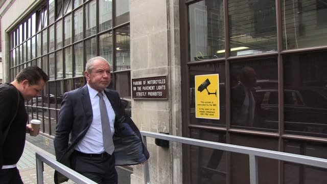 lord alan sugar arrives at radio one to promote his hit show the apprentice sighted lord alan sugar at bbc radio one studios on june 08 2011 in... - alan sugar stock videos and b-roll footage