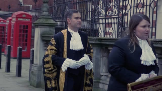Lord Chancellor and Justice Secretary David Gauke arrives at the Royal Courts of Justice to be sworn in front of judges for his new role The former...