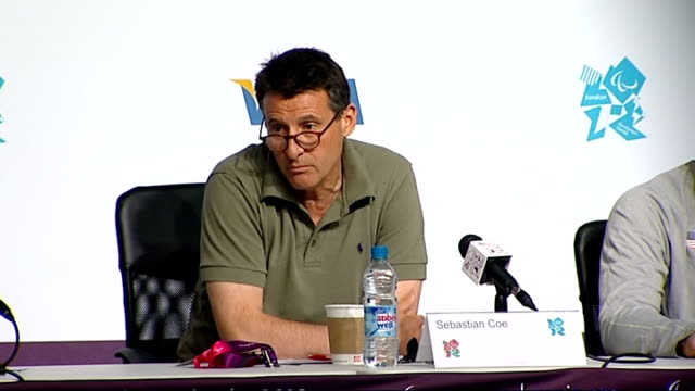 Lord Coe press conference Lord Coe press conference SOT On measuring impact on disabled children / on Oscar Pistorius controversy comment about...