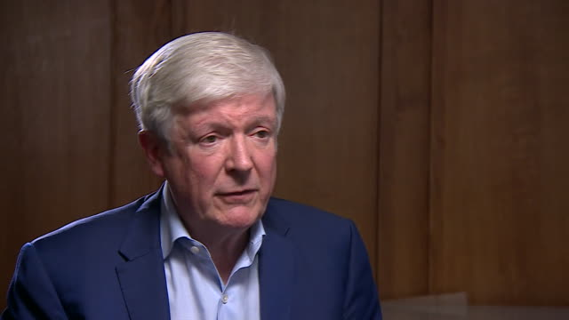 "lord hall saying he ""understands the dilemma"" of over-75's now having to pay the tv license fee - bbc stock videos & royalty-free footage"