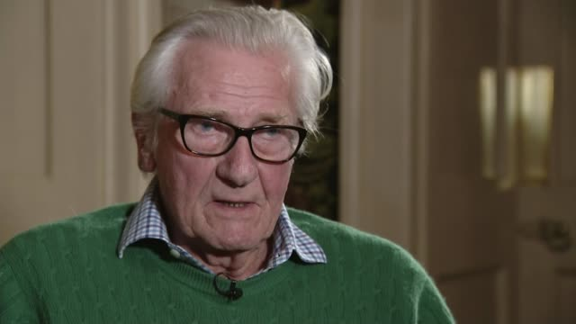 Lord Heseltine says he would be 'torn' if faced with a choice between Brexit or a Labour government ENGLAND INT Lord Heseltine interview SOT if there...