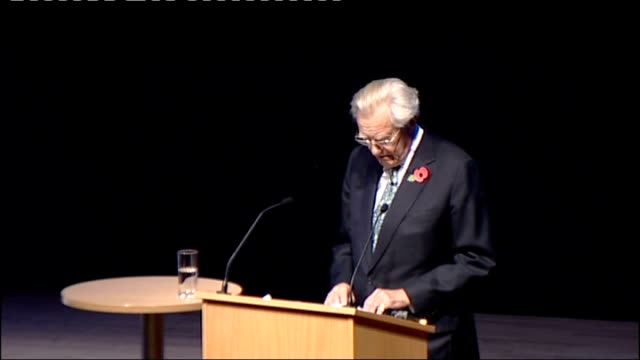 lord heseltine speech; england: birmingham int lord heseltine speech sot **check against delivery** - times of great crisis evoke memories of a time... - only girls stock videos & royalty-free footage