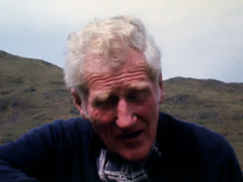 lord hunt talks about the legacy of the 1953 mount everest expedition. - snowdonia stock videos & royalty-free footage