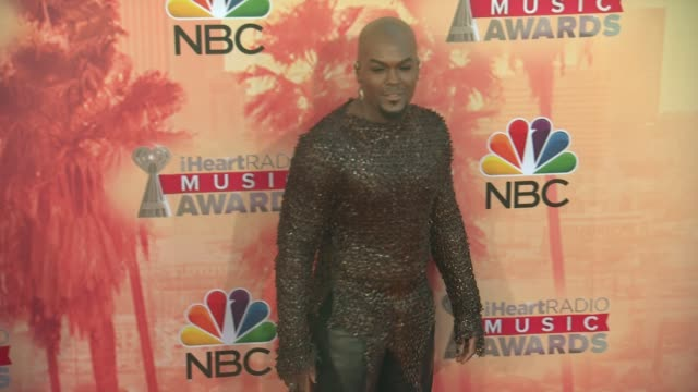 lord kraven at the 2015 iheartradio music awards - red carpet arrivals at the shrine auditorium on march 29, 2015 in los angeles, california. - shrine auditorium stock videos & royalty-free footage