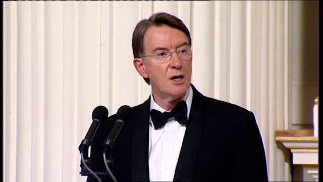 Lord Mandelson speech Mandelson speech SOT But these opportunities will not just fall into our lap We will come under relentless pressure as others...
