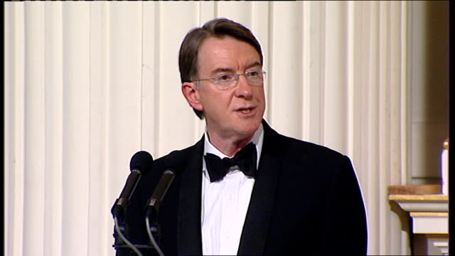 Lord Mandelson speech Mandelson speech SOT Repairing the hole in confidence is also a global problem with a national dimension It means being clear...