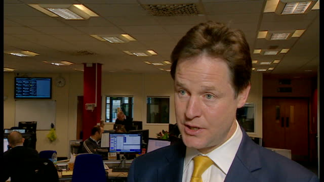 police looking at formal complaints portsmouth radio solent int nick clegg interview sot you cannot find things out if the victims themselves as was... - クリス・レナード点の映像素材/bロール
