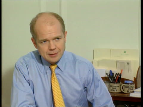 constitutional crisis itn london william hague mp interview sot it is not our job to help the government make bad laws paddy ashdown mp interview sot... - will.i.am stock videos and b-roll footage