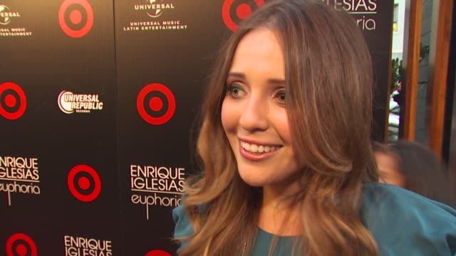 Lorena Nicole on if she's an Enrique Iglesias fan if she's excited to hear the new album if she's surprised to learn that it's Enrique's first...