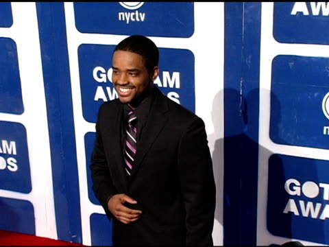 lorenz tate at the ifp's 15th annual gotham awards arrivals at pier 60 at chelsea piers in new york new york on november 30 2005 - chelsea piers stock videos & royalty-free footage