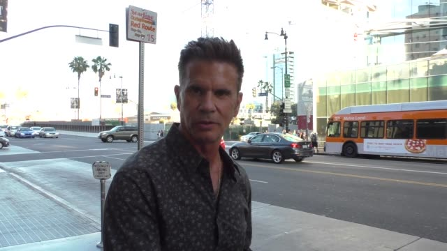 interview lorenzo lamas talks about his autobiography at the cabaret opening night at pantages theatre in hollywood celebrity sightings on july 20... - biographie stock-videos und b-roll-filmmaterial