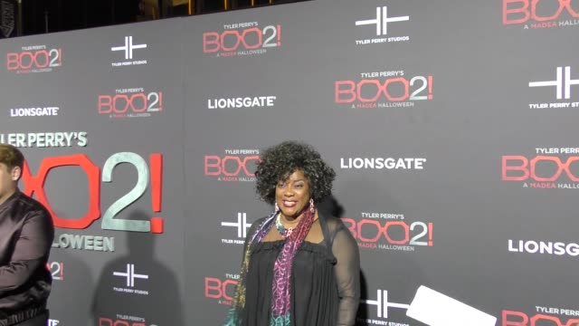 Loretta Devine at Lionsgate Presents The Los Angeles Premiere of Tyler Perry's 'Boo 2 A Madea Halloween' at LA LIVE on October 16 2017 in Los Angeles...