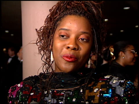 Loretta Divine at the American Cinema Awards at the Bonaventure Hotel in Los Angeles California on November 2 1996
