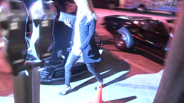 Lori Loughlin arrives for Beacher's Madhouse Party at Craigs in West Hollywood in Celebrity Sightings in Los Angeles