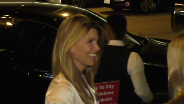 Lori Loughlin at Craig's in West Hollywood at Celebrity Sightings in Los Angeles on October 10 2015 in Los Angeles California