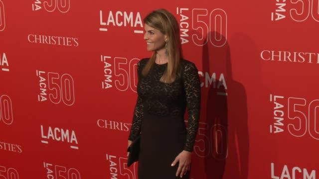 lori loughlin at lacma's 50th anniversary gala at lacma on april 18 2015 in los angeles california - lori loughlin stock videos & royalty-free footage