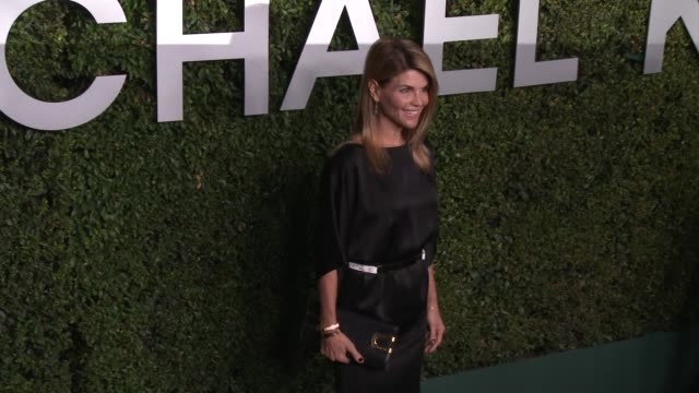 lori loughlin at michael kors celebrates the launch of claiborne swanson frank's young hollywood on october 02 2014 in beverly hills california - lori loughlin stock videos & royalty-free footage