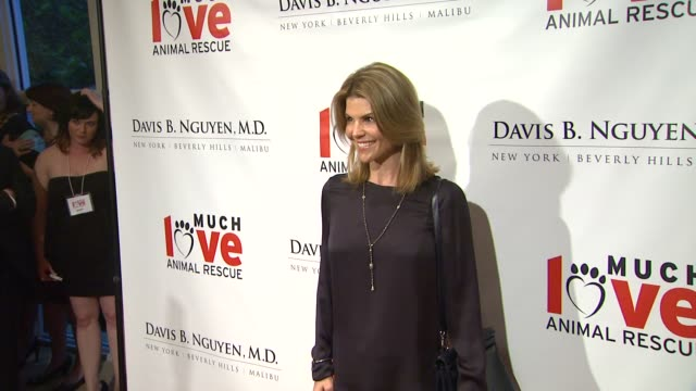 Lori Loughlin at Much Love Animal Rescue's Makeovers For Mutts 3/14/2013 in Beverly Hills CA