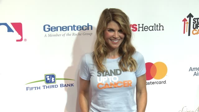 lori loughlin at stand up to cancer 2016 at walt disney concert hall on september 09 2016 in los angeles california - lori loughlin stock videos & royalty-free footage