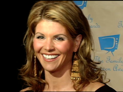 lori loughlin at the 6th annual family television awards at the beverly hilton in beverly hills california on december 1 2004 - lori loughlin stock videos & royalty-free footage