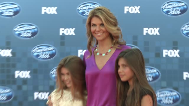 Lori Loughlin at the Fox's 'American Idol 2011' Finale Results Show at Los Angeles CA