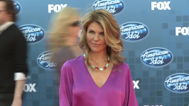 lori loughlin at the fox's 'american idol 2011' finale results show at los angeles ca - lori loughlin stock videos & royalty-free footage