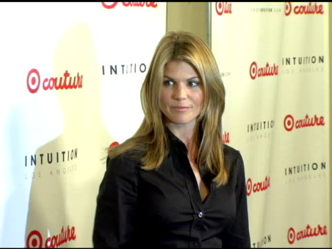 lori loughlin at the launch the target couture collection by intuition founder jaye hersh at social hollywood in hollywood california on may 11 2006 - jaye hersh stock videos and b-roll footage
