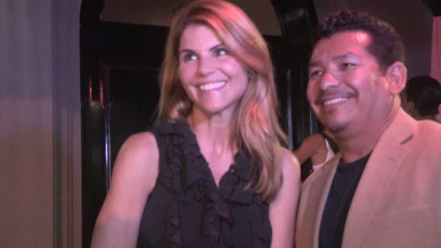 Lori Loughlin Mossimo Giannulli at Craigs on June 18 2015 in Los Angeles California