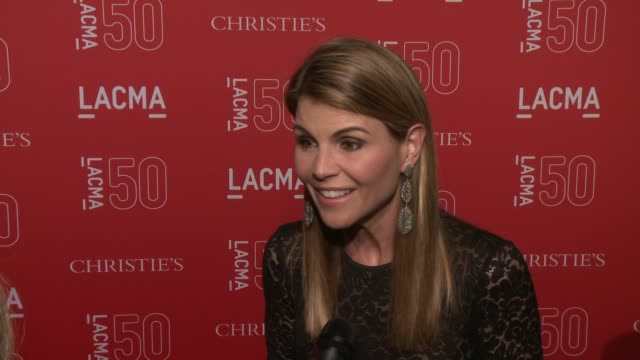 INTERVIEW Lori Loughlin on her love of LACMA at LACMA's 50th Anniversary Gala at LACMA on April 18 2015 in Los Angeles California