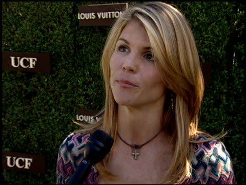 Lori Loughlin on supporting the cause on UCF and Louis Vuitton coming together to fight cancer at the United Cancer Front/Louis Vuitton Luncheon on...