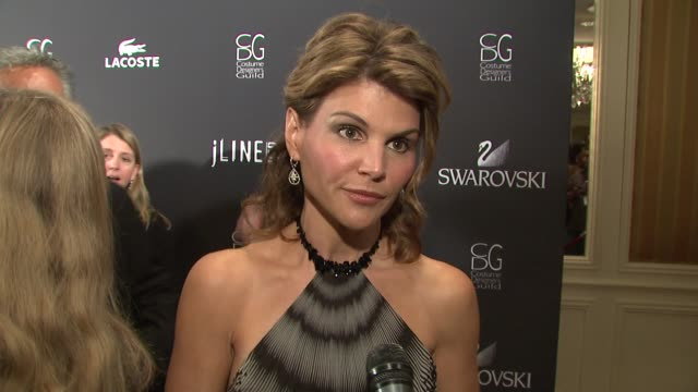 Lori Loughlin on the event collaborating with designers her most memorable costume at the 11th Annual Costume Designer Guild Awards at Los Angeles CA