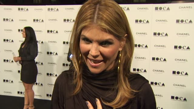 Lori Loughlin on why she wanted to celebrate with MOCA tonight what she's wearing at the MOCA Los Angeles 2010 Gala 'The Artist's Museum Happening'...