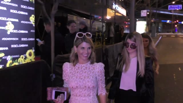lori loughlin outside bootsy bellows nightclub in west hollywood celebrity sightings on march 23 2016 in los angeles california - lori loughlin stock videos & royalty-free footage