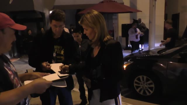 lori loughlin outside craig's in west hollywood at celebrity sightings in los angeles on june 16 2018 in los angeles california - lori loughlin stock videos & royalty-free footage