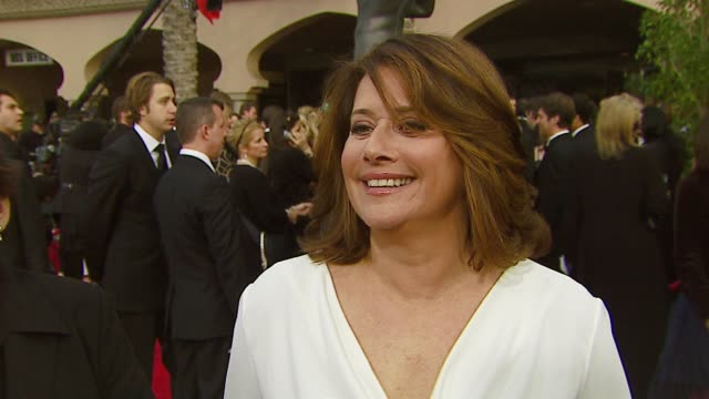 lorraine bracco on the last season of the sopranos and this event at the 2007 screen actors guild sag awards at the shrine auditorium in los angeles... - zuletzt stock-videos und b-roll-filmmaterial