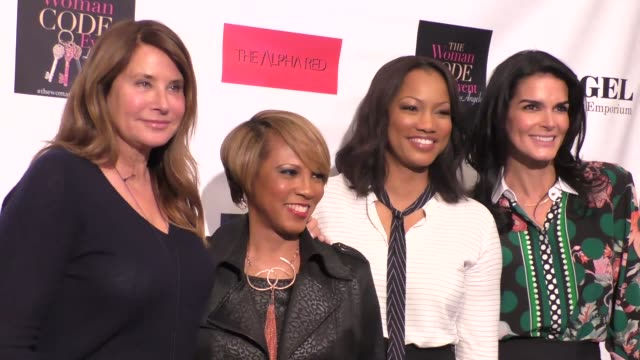 Lorraine Bracco Sophia A Nelson Angie Harmon and Garcelle Beauvais at An Evening With Author of 'The Woman Code' Sophia A Nelson hosted by Angie...