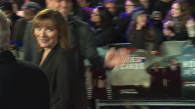 "lorraine kelly at ""house of cards"" uk premiere at the empire cinema on february 26, 2015 in london, england. - lorraine kelly stock videos & royalty-free footage"