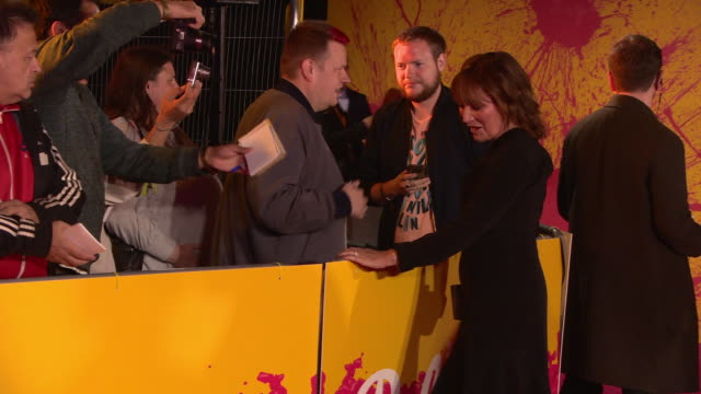 lorraine kelly at itv palooza at the royal festival hall on october 16, 2018 in london, england. - lorraine kelly stock videos & royalty-free footage