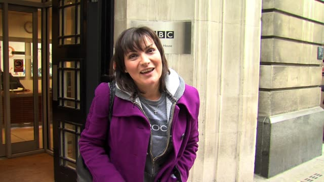 lorraine kelly leaves bbc radio two. sighted: lorraine kelly on february 07, 2011 in london, england - lorraine kelly stock videos & royalty-free footage