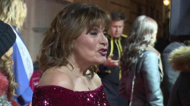 lorraine kelly on december 13, 2018 in london, england. - lorraine kelly stock videos & royalty-free footage
