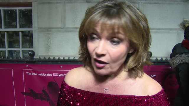 lorraine kelly on the awards, currentt life and hopes for the future on december 13, 2018 in london, england. - lorraine kelly stock videos & royalty-free footage