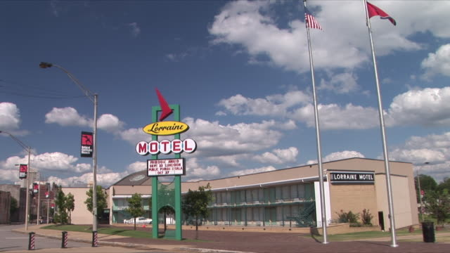 WS Lorraine Motel, National Civil Rights Museum, Memphis, Tennessee, USA