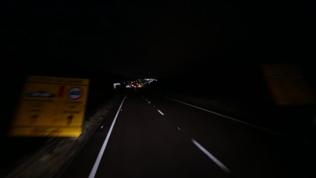 lorry driver bob evans drives his vehicle from the port of calais as he makes his way to belgium to pick up a load of bananas on march 5 2018 in... - haulage stock videos & royalty-free footage