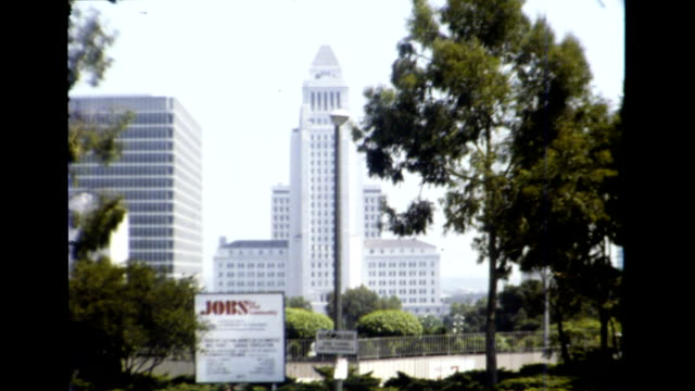 los angeles 1977 - palm tree stock videos & royalty-free footage