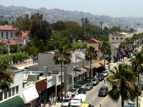 Los Angeles: Beverly Hills Retail Street