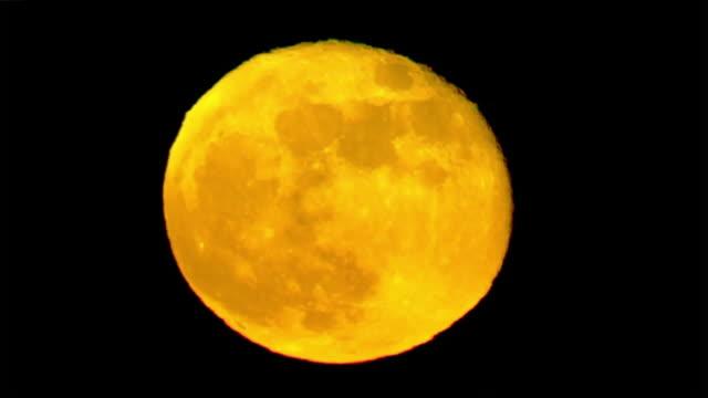 ktla los angeles ca u s aerial view of full moon on saturday june 6 2020 - tranquil scene stock videos & royalty-free footage