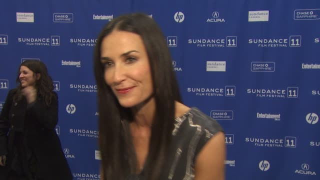 los angeles, ca, united states, 1/25/11 - demi moore stock videos & royalty-free footage